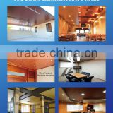 Water Proof board used for pvc ceiling Wood Grain PVC Ceiling Board / Panel, PVC ceiling Hot&Sale