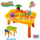 Outdoor & Preschool kids Educational beach table for water play tool,platform tables toy