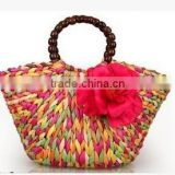 Fashion Nice NEW Women Fashion Style Straw Summer Beach Tote Big Shoulder Bag Purse Handbag Hot