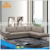 Creative designer leather sofa combination contracted and contemporary personality paper art sofa head layer cowhide leather sof