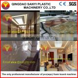 Extruder/PVC lmitated marble sheet/wall panel/Interior decoration board machine/production line