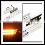 Auto LED Clear Side Marker Lights Turn Signals For BMW 1 series E81 E82 E87 E88