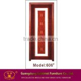 606# Laminate Wholesale Solid Wood Panel Door Design