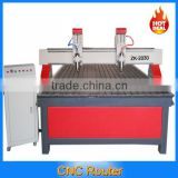 Large 2*3m double heads woodworking CNC router machine ZK-2030