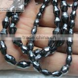 Round Cut Black loose Moissanite Beads Manufacturer in india