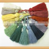 Mini small cotton tassel wholesale tassel for bag