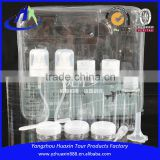 PET cosmetic bottle set travel cosmetic bottle set packaging cosmetic travel kit