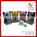Animal bottles color spray painted bean toy candy