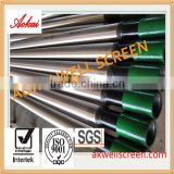 Factory!stainless steel 304 deep well pipe based wedge wire johnson well screen and filter