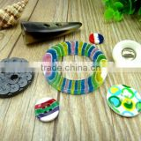 2015 new fashion custom made plastic button for clothing