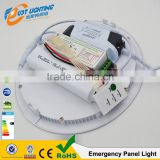2016New Style 12W 15W 18W Recessed Mounting Emergency LED Panel Light