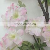 Christmas decoration artificial silk cherry blossom tree, cherry blossom branches wholesale