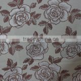Factory digital custom printed thick 100 polyester spon brushed fabric for school uniform/sport wear fabric