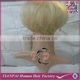 Short synthetic wigs blonde color braided wigs wholesale cheap price straight full lace synthetic wigs