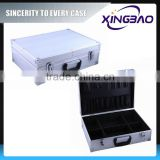 Aluminum framed abs tool case with elastic band,hairdresser tool case,aluminum barber tool case