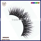 Eyelash manufacture top quality 3D real mink eyelashes,5301 premium mink eyelashes wholesale