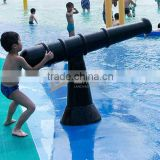Gun Water spray feature water cannon for water park swimming pool
