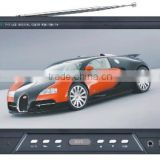 AV TV VGA Input TFT LCD 9inch Widescreen Car Monitor with Remote Control