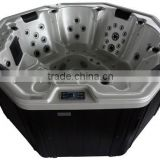 balboa control system indoor/outdoor whirlpool bathtub spa hot tub with overflow(Aglaia)
