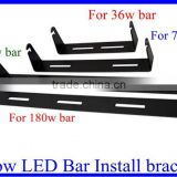 Shanshan matched led driving light Bumper bracket for off road vehicle, Trucks, Cars, Jeep,,Agriculture D01 Series