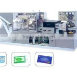 China import automatic wet wipes production line for producing baby wipes
