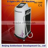 10.4 Inch Screen Www.golden-laser.org/2013 New Unwanted Hair Style E-light+IPL+RF Machine Laser Diode Lens