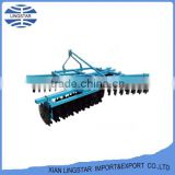 High Quality Agriculture Parts 1BJDX series 3-point mounted opposite middle-duty disc harrow