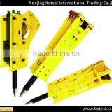 Excavator hydraulic breaker hammer Side type top type Silenced type breaker is available