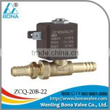 Bona AC220V Tube connector 8.0mm dental chair spare parts solenoid valve ZCQ-20B-22
