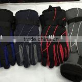 2015 Fashion Useful leather ski gloves