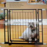 RH-4774 Slide-Step Open Hands Free Wall Mounted Pet Baby Child Dog Gate