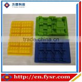 Silicone Lego molds for making candles, candy, soaps and ice cubes