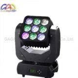 9*12W Moving Head Light Best Price RGBW 4in1 LED Moving Head Light