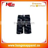 Hongen apparel fashion short bermuda surf short polo swimwear men de bain board shorts polyester beach wear