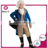 Halloween Party men judge boys costumes with party wig