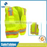 High visibility 5cm reflective tape safety vest construction