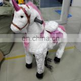 New design!!!HI funny walking ride on horse for hot sale,mechanical ride on animal for kids