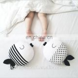 Baby stuffed plush fish soft toy as photography tool, custom baby fish sleeping pillow