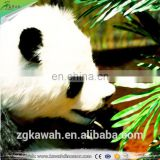 KAWAH Animatronic Animal Model Life-Size Real Panda For Theme Park