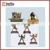 Table decoration mini plastic warrior figure