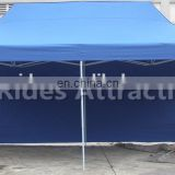 Blue Color Steel Frame Folding Tent For Outdoor