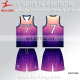 Cheap Custom Sublimation Toddlers Basketball Jersey Color Purple, Custom Basketball Uniform Design