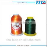 120D/2 5000M King spool Polyester Embroidery Thread for Embroidery Machine