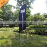 advertising flying banner with telescoping pole
