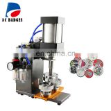 Good selling Pneumatic button badge machine efficiently badge press making machine