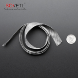 Super temperature resistant stainless steel conductive webbing