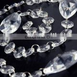 Elegant Clear Acrylic Crystal Beaded Garland