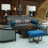 2018 New Hotel Lobby Sofa and Table Furniture Set