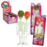 Halloween Skeleton Hard Toy Lollipop Candy