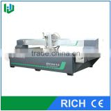 Water jet cutting machine in wood router